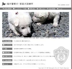 福井警察犬・家庭犬訓練所